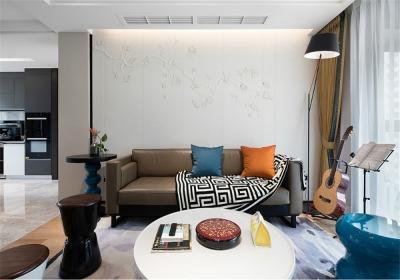 福星惠誉福星华府峯境121平三居室现代风格装饰效果图