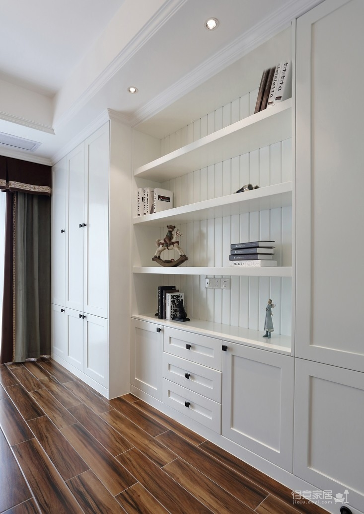 165㎡经典美式风格装修,优雅与大气的品质之家!