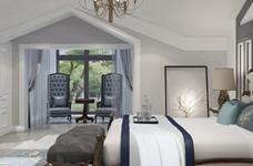 海伦小镇别墅187平五居室古典风格装饰效果图图_4
