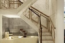 海伦小镇别墅187平五居室古典风格装饰效果图图_3
