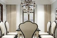 海伦小镇别墅187平五居室古典风格装饰效果图图_8