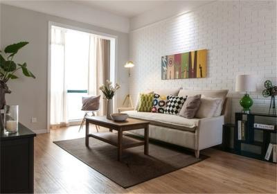 台银城114平三居室北欧风格装饰效果图