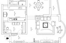 红岭大厦 中式风格图_2