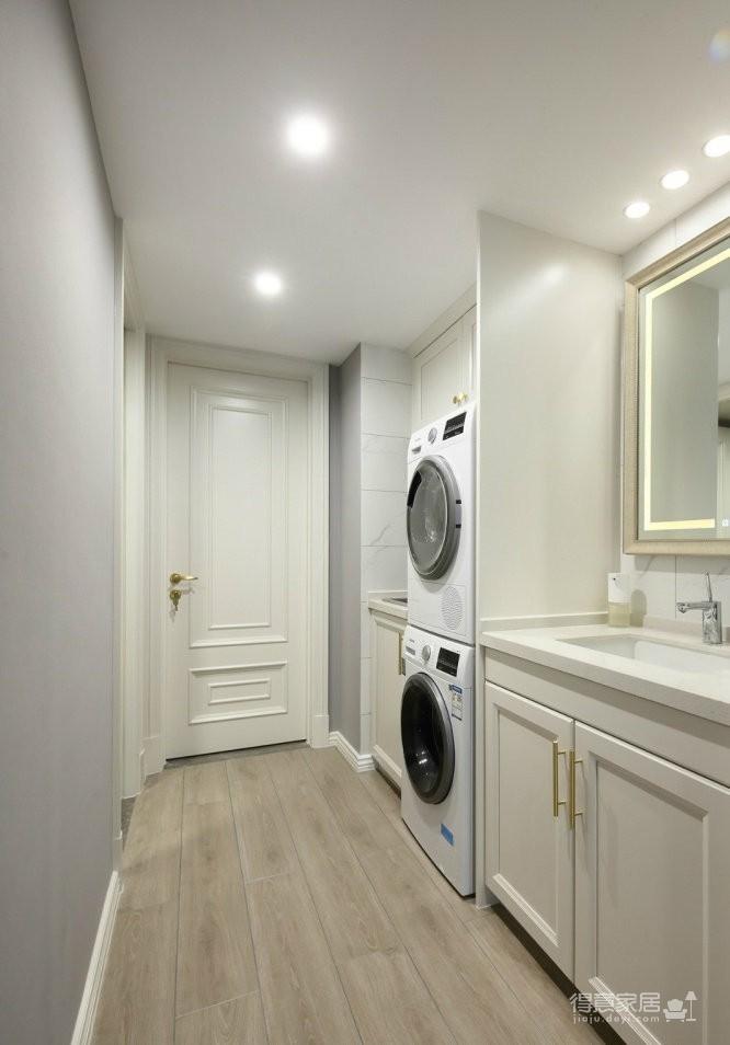 现代美式风四居室,流畅的线条,温暖的配色,喜欢这样的家