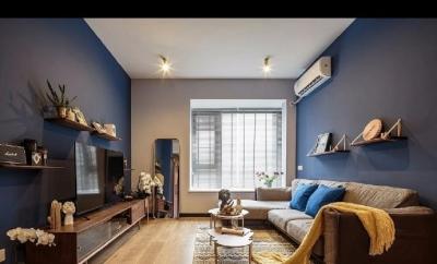 80㎡混搭风质感两居室设计,精致小清新范装修的代表作