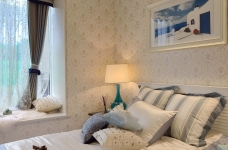 三室一厅-地中海风格-超有情调图_5