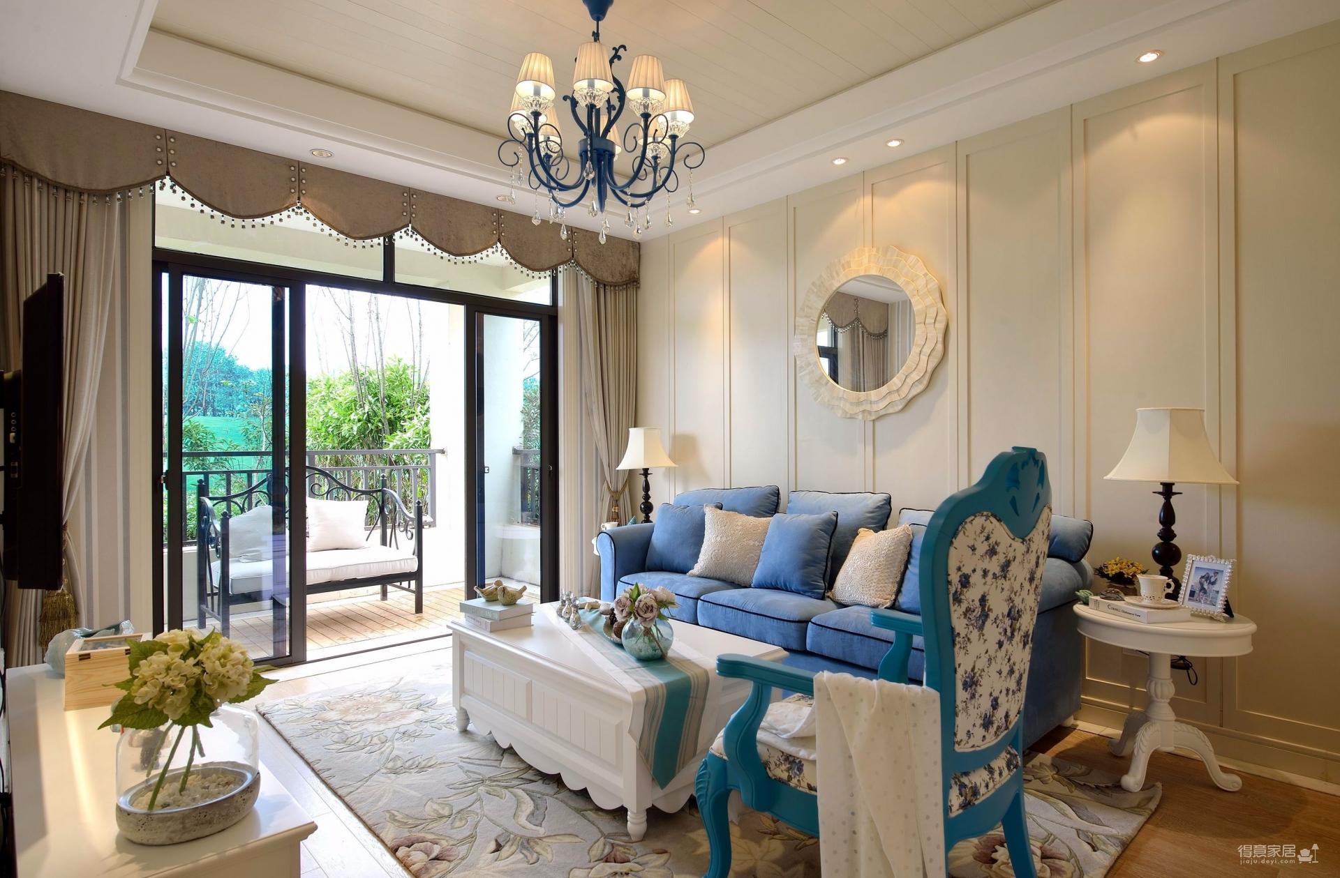 三室一厅-地中海风格-超有情调图_2