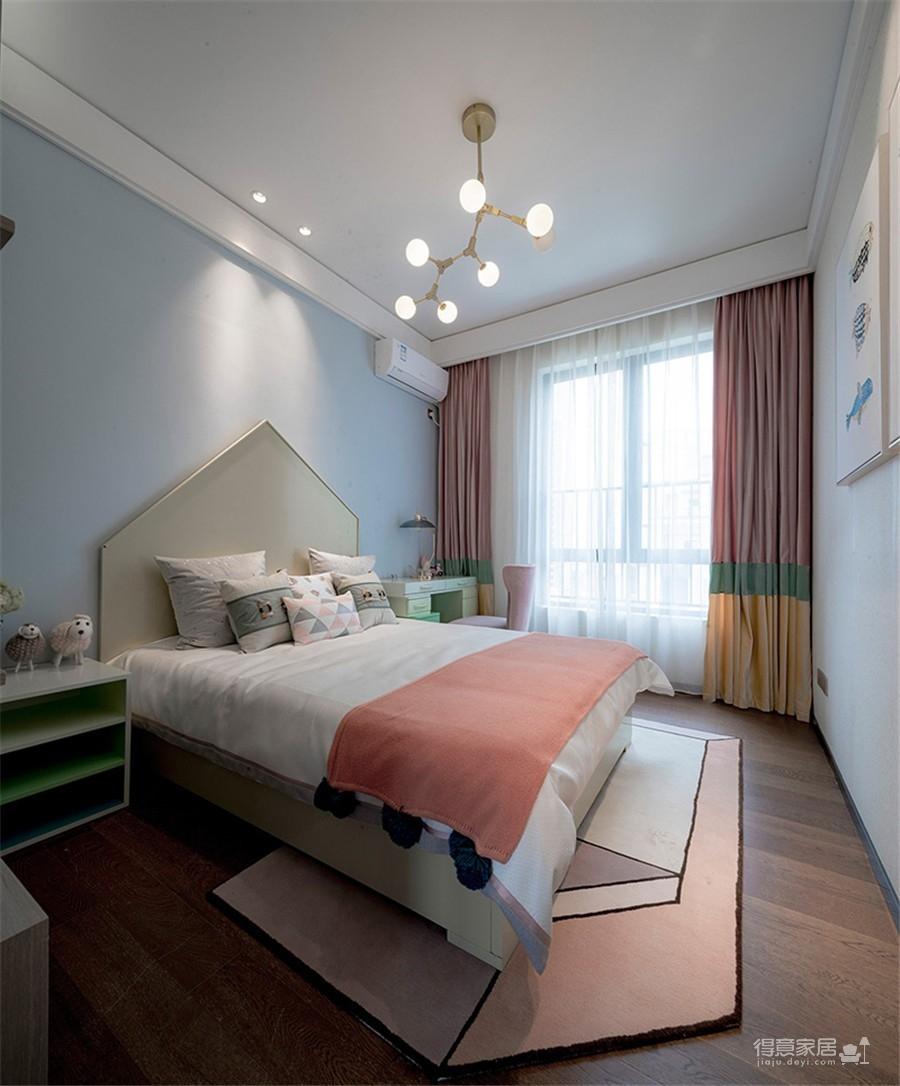 福星惠誉福星华府128平三居室中式风格装饰效果图