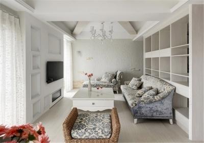 福星惠誉福星华府128平三居室现代简约风格装饰效果图
