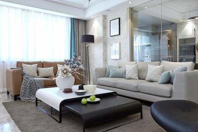 120平现代简约三室两厅装修