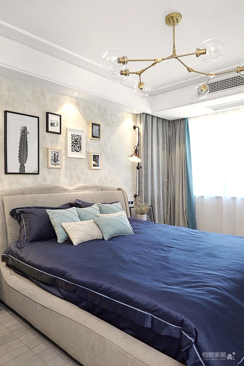 120平现代简约三室两厅装修图_7