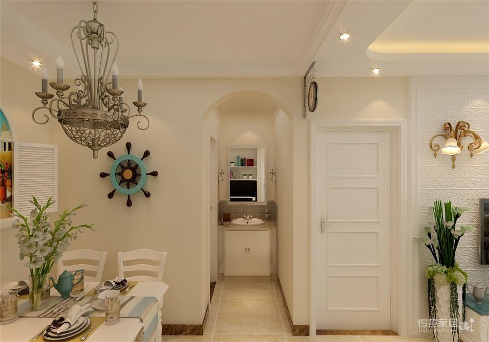 福星惠誉福星华府88平二居室地中海风格装饰效果图