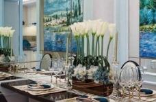 120㎡现代巴黎浪漫法式,蓝灰色的空间色调!图_7