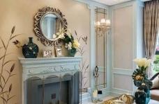 120㎡现代巴黎浪漫法式,蓝灰色的空间色调!图_3