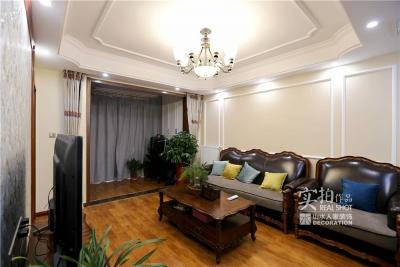 91平三室两厅美式