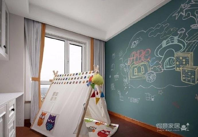 现代美式四居室装修设计,细节与质感的完美空间演绎