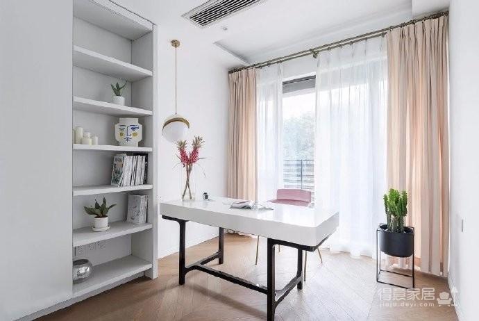 现代法式风格三居室装修设计,融入浪漫与优雅的生活!