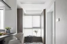 135㎡现代轻奢风婚房,堪比效果图!黑白灰营造极简质感!图_2