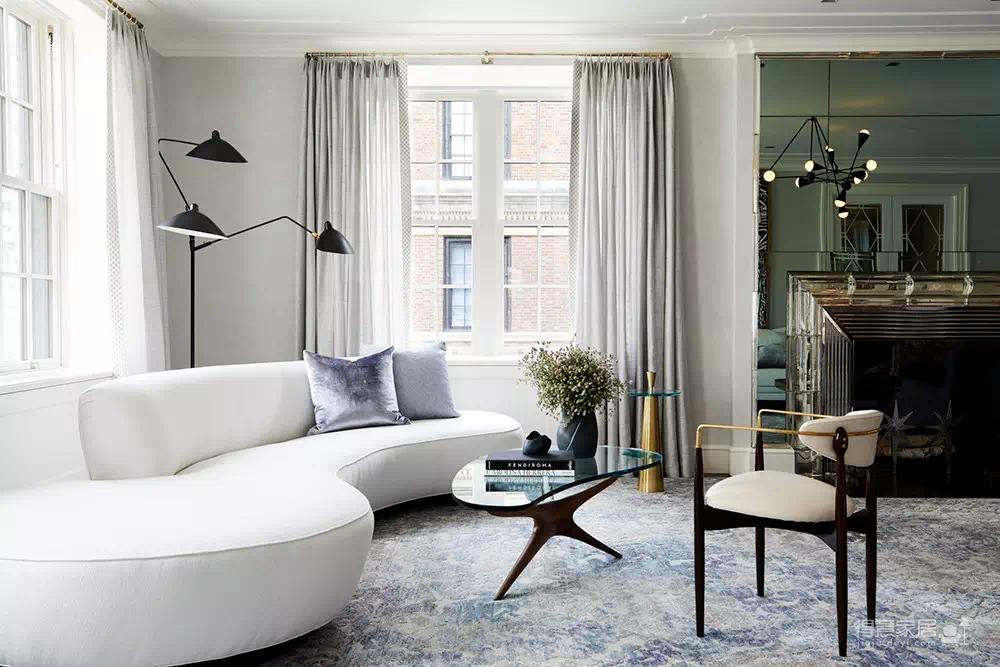 美国曼哈顿街头公寓,法式复古美到令人沉醉!