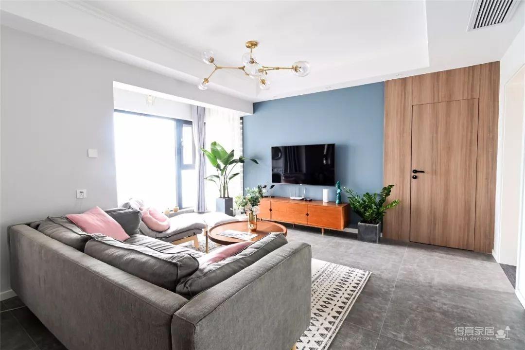 96㎡温馨北欧风格装修,舒适居家的小资生活!图_4