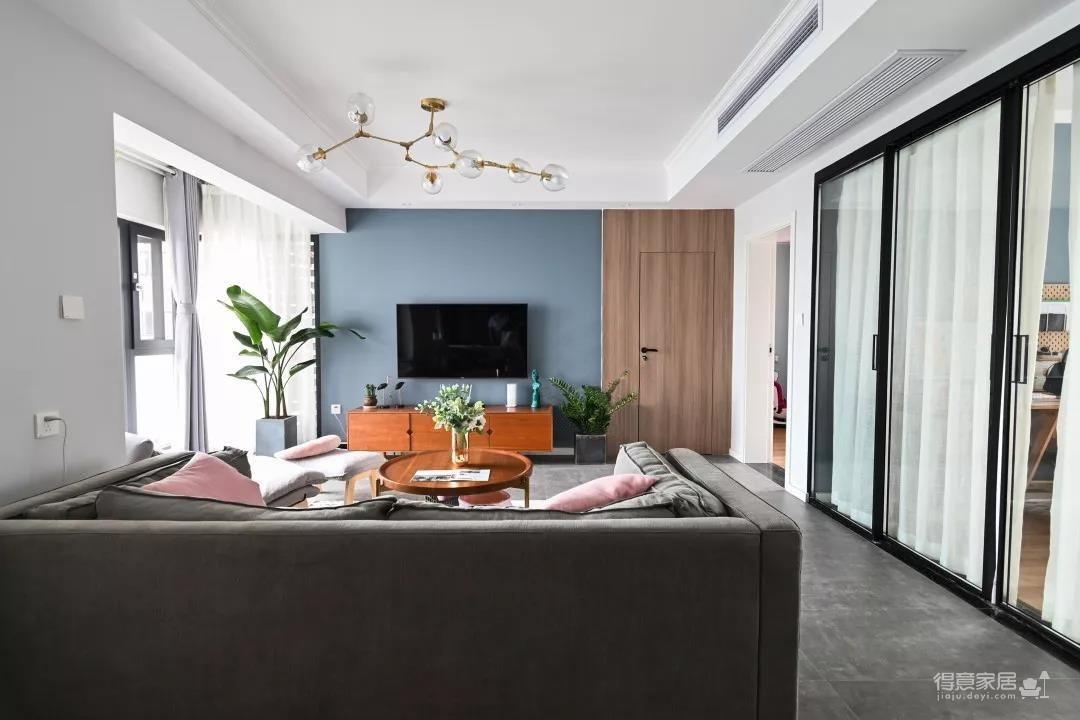 96㎡温馨北欧风格装修,舒适居家的小资生活!图_5