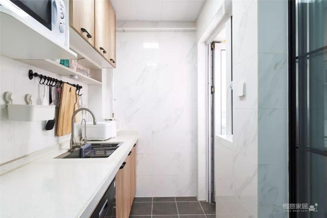 96㎡温馨北欧风格装修,舒适居家的小资生活!图_8