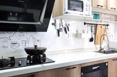 96㎡温馨北欧风格装修,舒适居家的小资生活!图_9