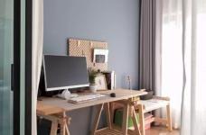 96㎡温馨北欧风格装修,舒适居家的小资生活!图_11