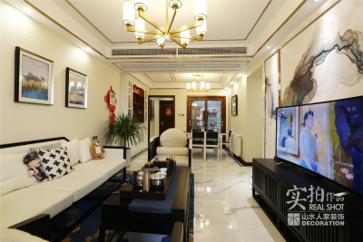 124平三室两厅新中式