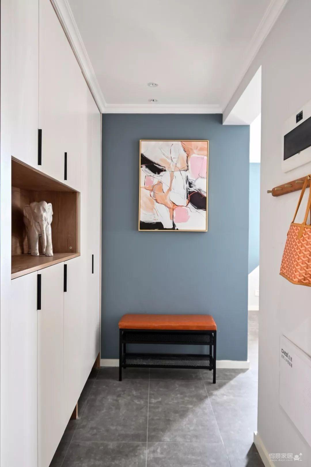 96㎡温馨北欧风格装修,舒适居家的小资生活!图_2