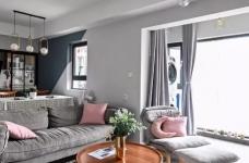 96㎡温馨北欧风格装修,舒适居家的小资生活!图_1