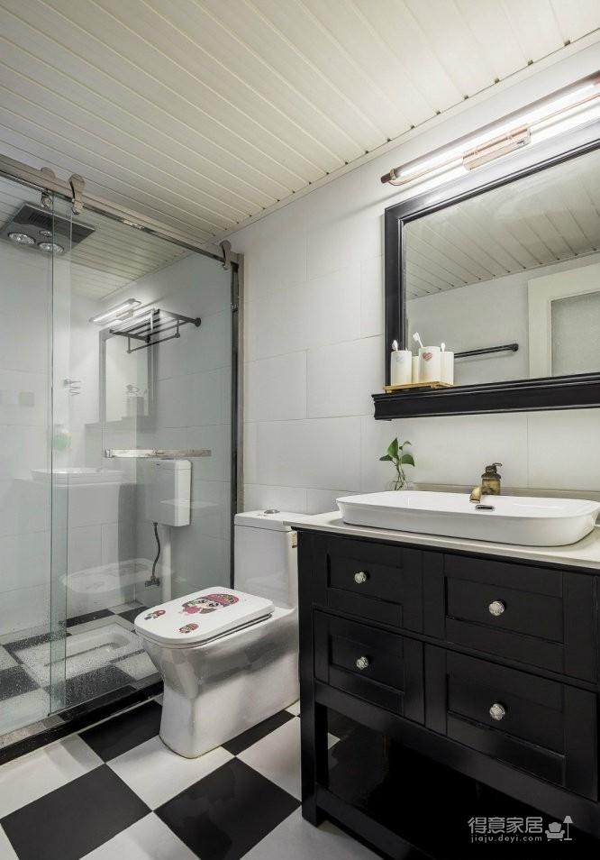 美式混搭风三居室,休闲惬意的简约舒适空间