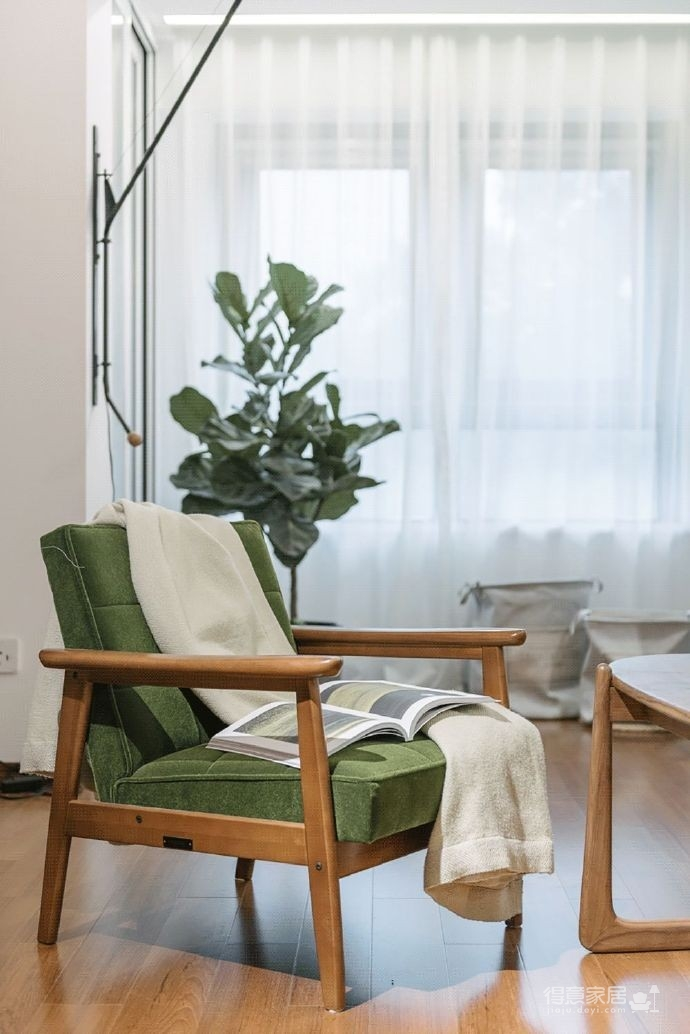 原木色的温暖之家,一个家让你从此有了一个最舒适的生活方式! 图_7