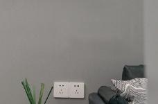 90㎡现代简约·高级灰家居装修设计!图_3