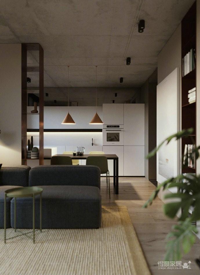 60平北欧风极简公寓