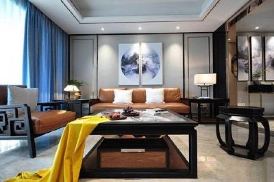 韵味十足的新中式风格家居装修设计