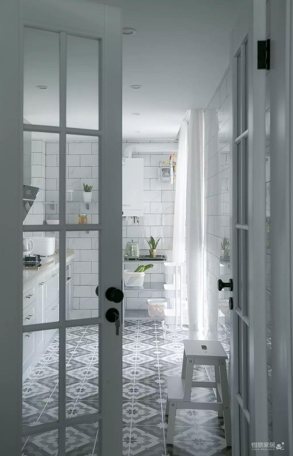 137㎡轻奢北欧3室2厅,营造轻盈浪漫的小资情调!图_11