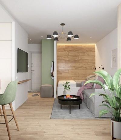 清新淡雅的小家,房子再小,也要好设计