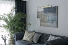 137㎡轻奢北欧3室2厅,营造轻盈浪漫的小资情调!图_4