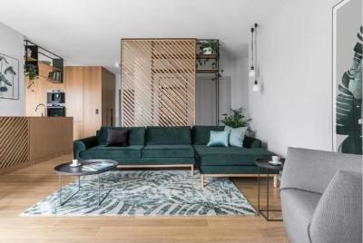 115m²森系北欧家居设计