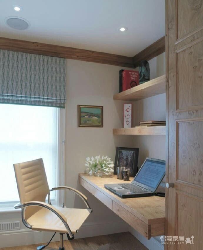 小户型书房设计,节省空间又实用!