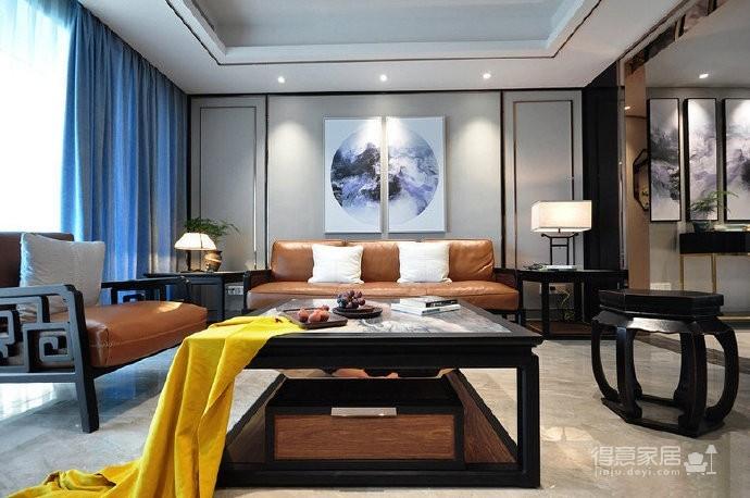 208平轻奢现代中式四居室