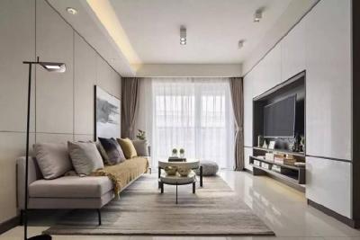 收纳细节控的家, 89平现代三居室