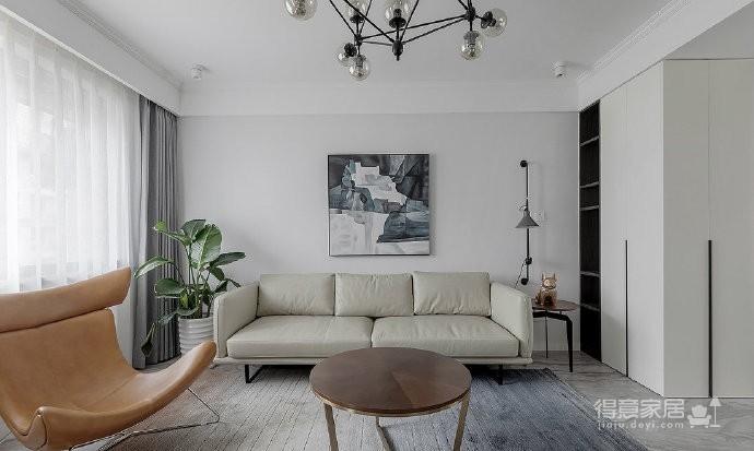 现代北欧风四居室,明亮舒适的简约空间