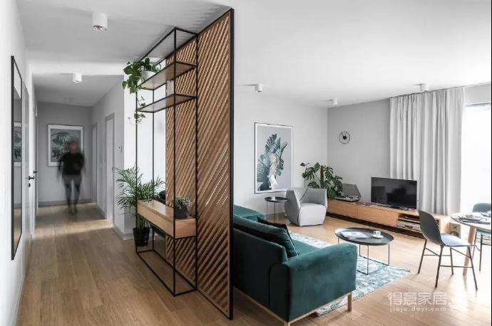 115m²森系北欧家居设计图_3