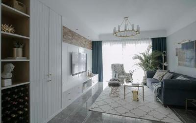 137㎡轻奢北欧3室2厅,营造轻盈浪漫的小资情调!