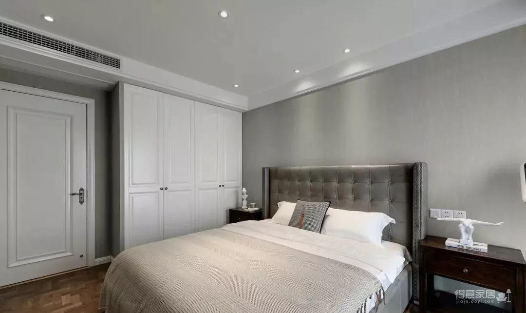 115㎡的现代轻奢风,精选的沙发背景美了整个家!图_4
