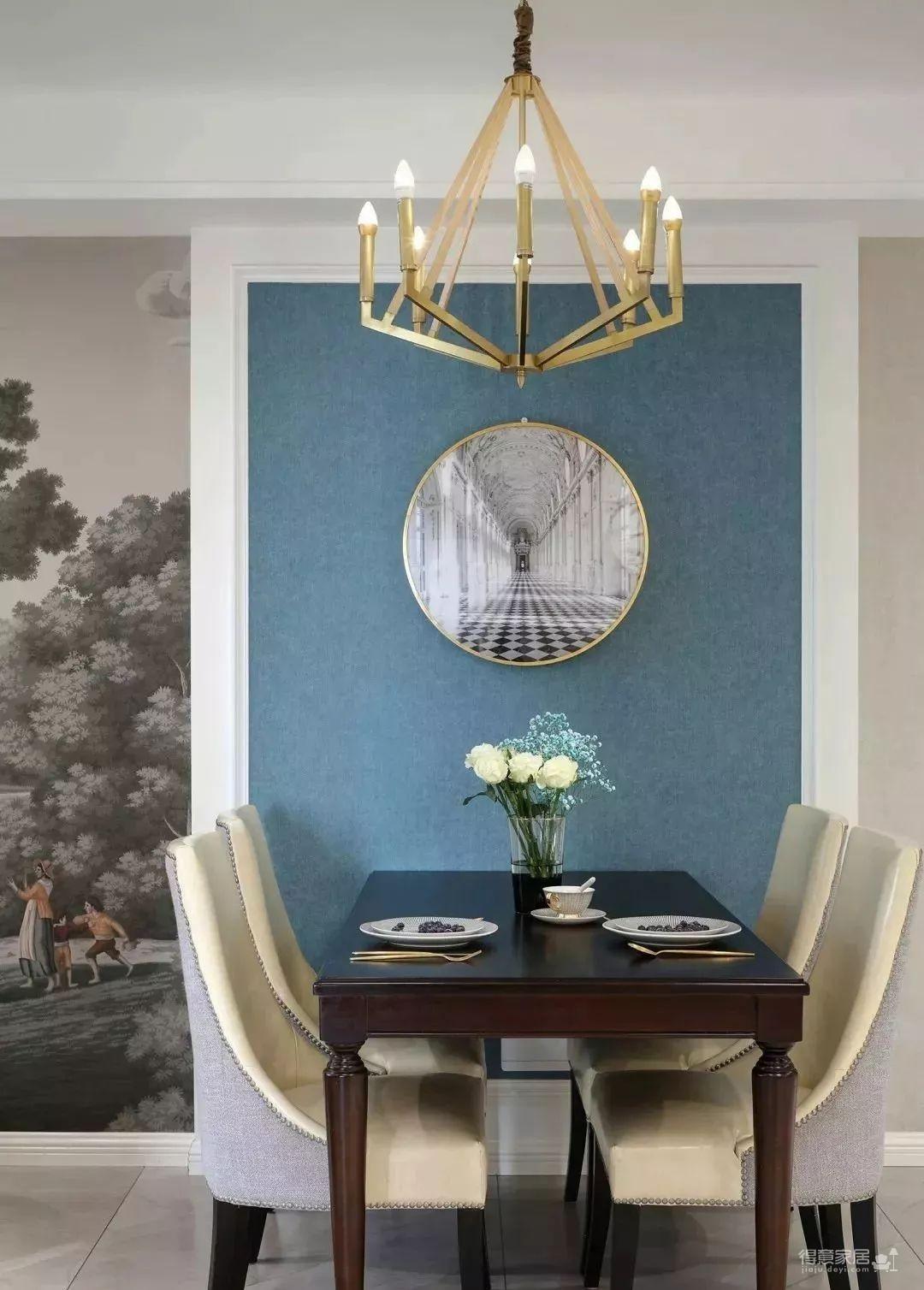 115㎡的现代轻奢风,精选的沙发背景美了整个家!图_3