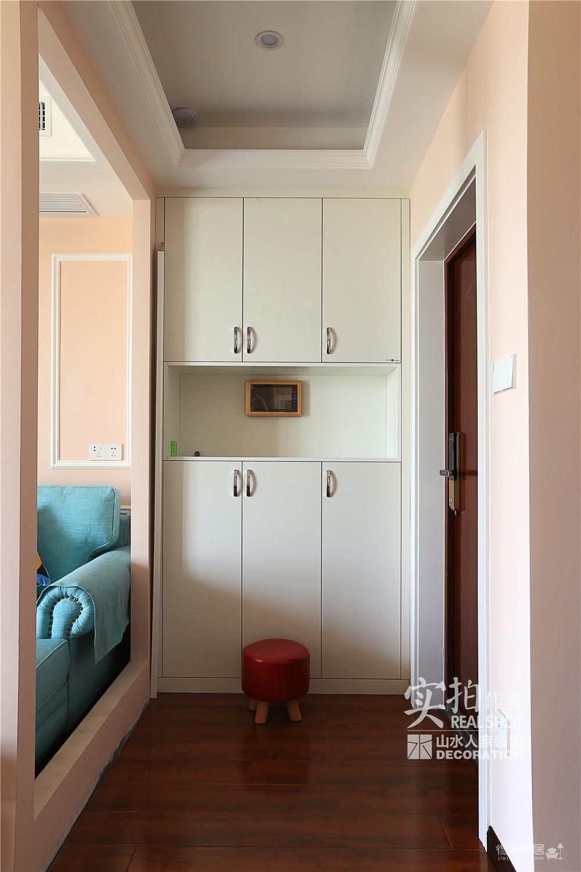 110平三室两厅粉色简美图_5