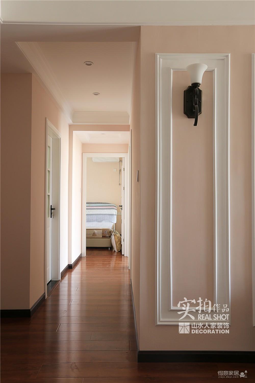 110平三室两厅粉色简美图_4